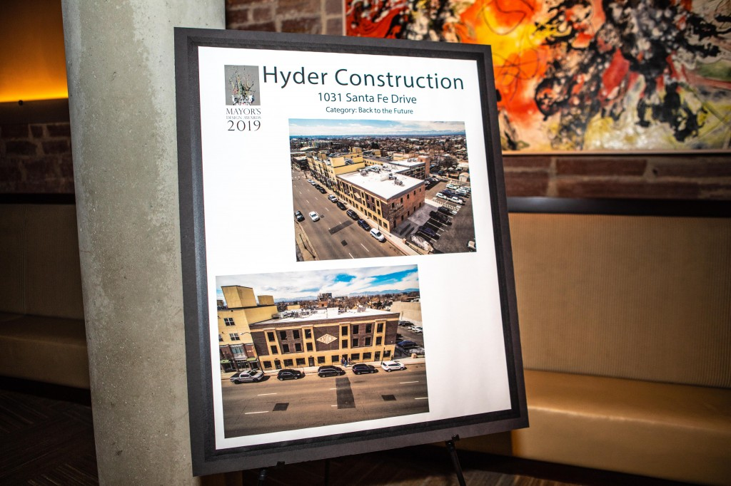 HYDER CONSTRUCTION WINS A MAYOR'S DESIGN AWARD!