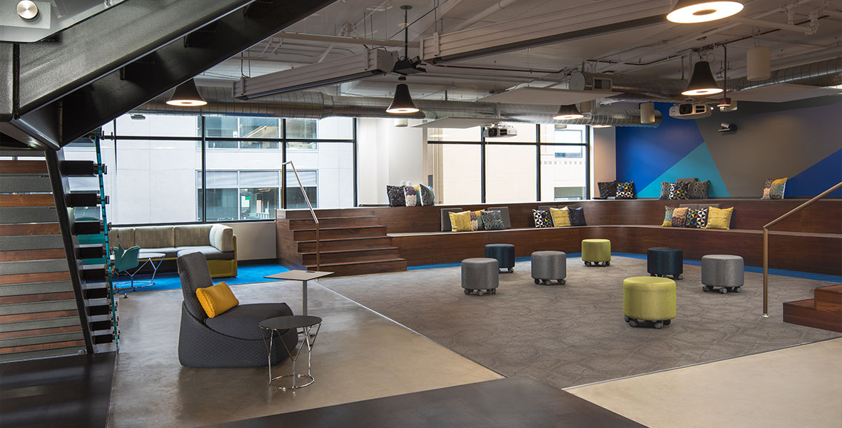 NetApp, an Elsy Studios Commercial Interior Design project