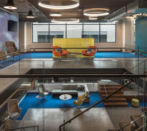 NetApp, an Elsy Studios Commercial Interior Design portfolio project in Denver, Colorado