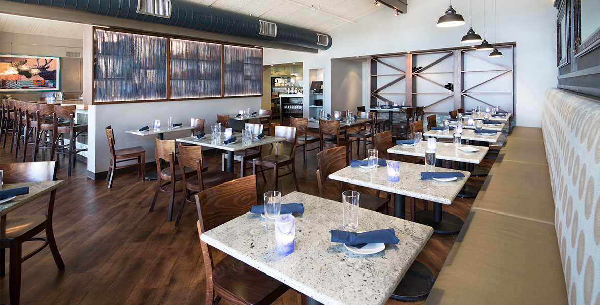 Scott's on Alpine, a restaurant project from Elsy Studios