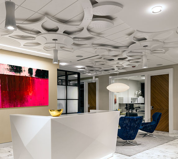 Shared Service Center, an Elsy Studios Commercial Interior Design portfolio project