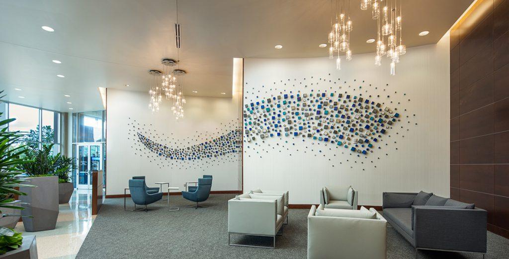 Village Center Station, a portfolio Lobby project by Elsy Studios in Denver, Colorado